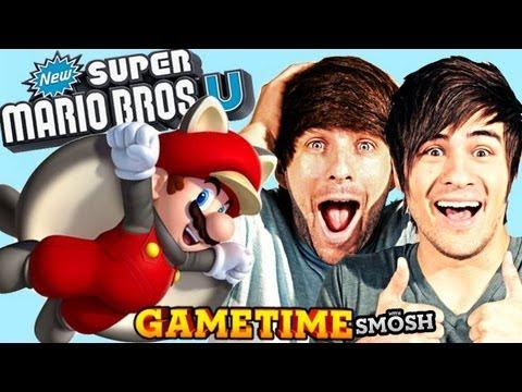 TROLLING IN MARIO U (Gametime w/ Smosh)