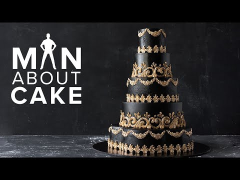 #CakeSlayer Halloween: GOTHIC WEDDING CAKE | Man About Cake with Joshua John Russell