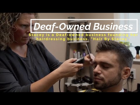 """Deaf-Owned Business - """"Hair By Stacey"""""""