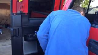 F150 rear door panel removal