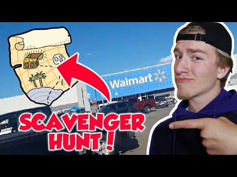 *insane*-scavenger-hunt-in-wal-mart!!!