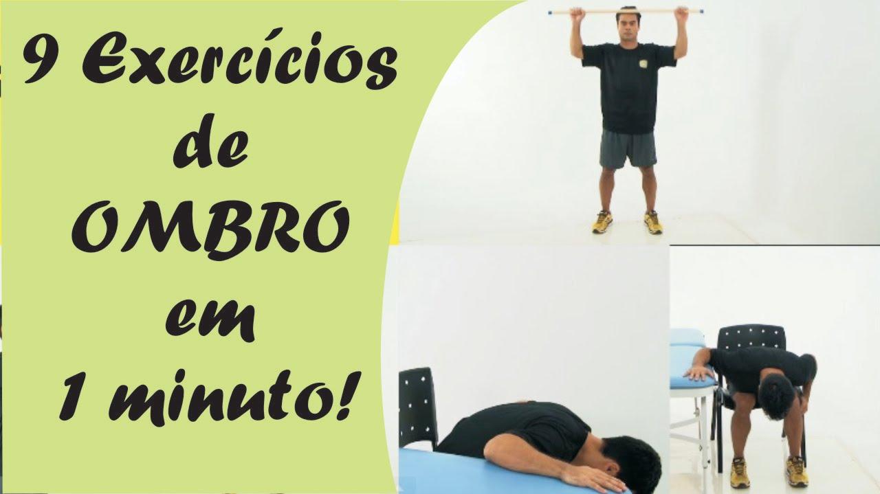 Top 9 Exercícios de OMBRO em 1 minuto! - YouTube PH36