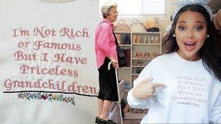 shopping senior citizen clothes & making them cute