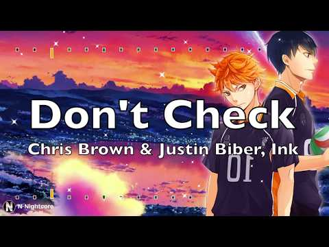 「Nightcore」→ Chris Brown Indigo Album - Don't Check On Me Mp3