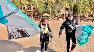 Kitesurfing Fuerteventura  Sotavento Kite Lagoon