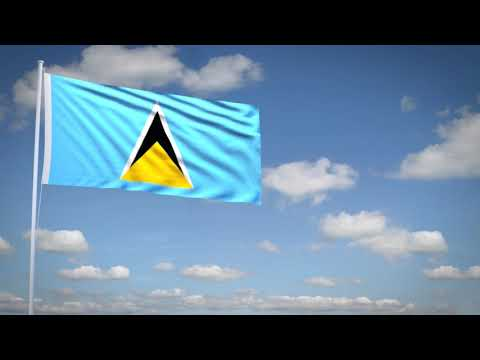 Studio3201 - Animated flag of Saint Lucia