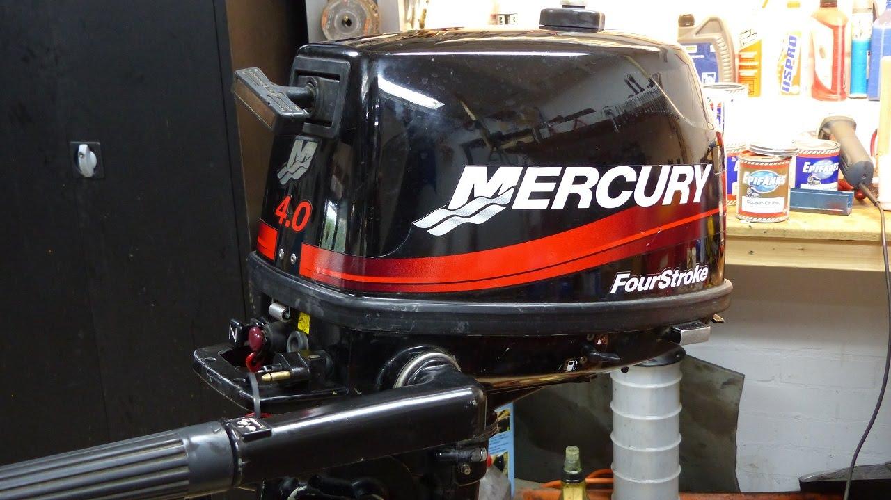 Mercury 4 Stroke Impeller Change 4 5 6hp Youtube