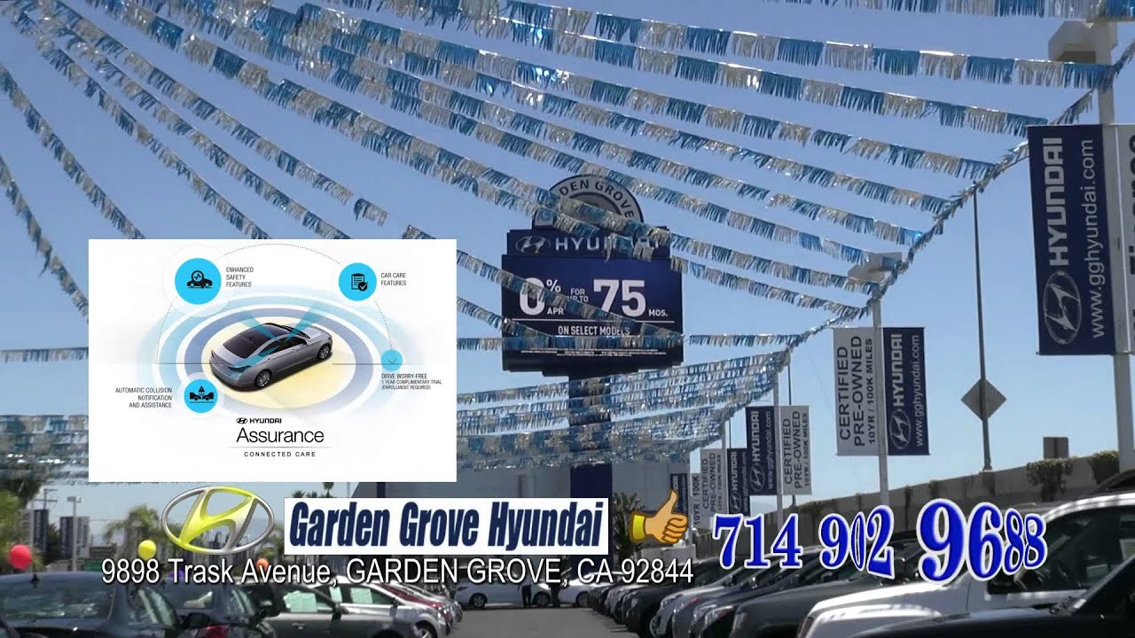 QC GARDEN GROVE HYUNDAI - YouTube