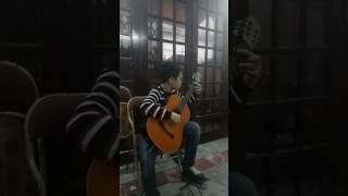 Cháu Lê Ngọc Tuân -Tình ca tây bắc ( Thầy Lê Hiếu chuyển soạn cho guitar)