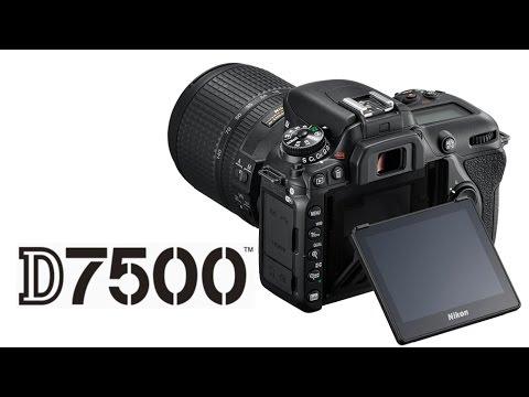 Nikon D7500 Preview (vs D500, D7200)