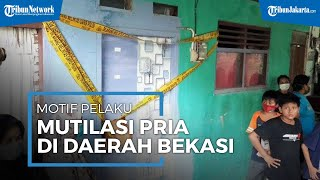 Kesal Selalu Dipaksa Hubungan Sesama Jenis, Pemuda Kalap Mutilasi Pegawai Minimarket Di Bekasi
