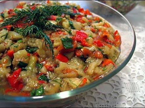 Közlenmiş Patlıcanlı Kırmızı Biber Mezesi - Naciye Kesici - Yemek Tarifleri