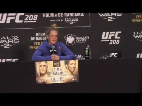 """Holly Holm """"The fight could have gone either way but I felt I had 3 rounds and won the fight"""""""