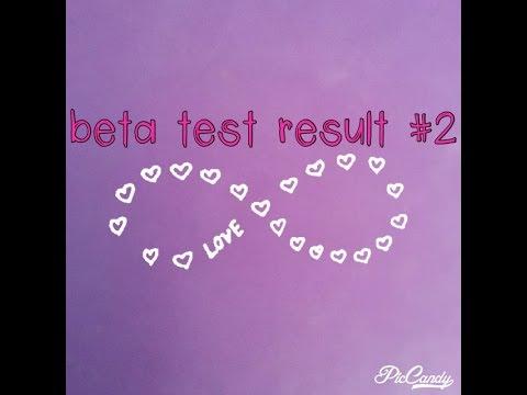 Beta Test #2 RESULTS! Still Pregnant?!?!