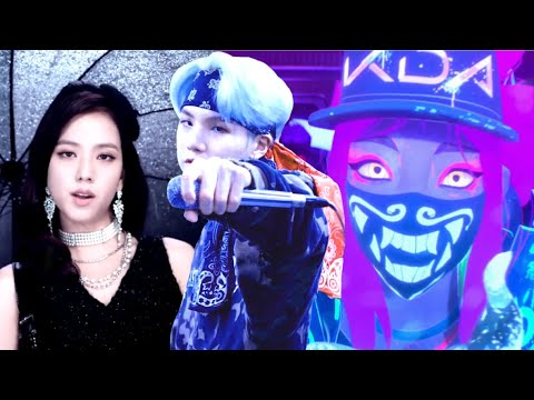 K/DA x BTS x BLACKPINK - POP/STARS x MIC DROP x DDU-DU DDU-DU (Mashup)
