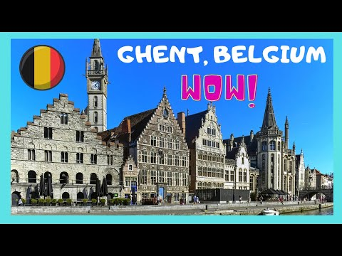 BELGIUM: The medieval city of GHENT, what to see in 4 hours or less