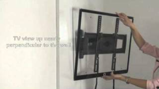 LOCTEK FULL MOTION LOW PROFILE LED TV MOUNT PSW802SAT