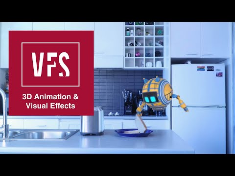 Leo The Friendly Robot - Vancouver Film School (VFS)