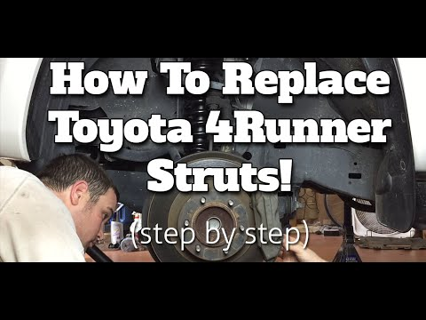 How To Replace The Front Struts On A 2006 Toyota 4Runner Limited 2wd NON X-REAS Suspension