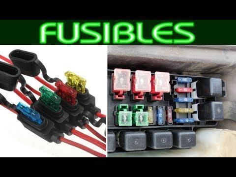 Que fusible de debe usar para un circuito? 10 amp, 20 amp o 5 amp,etc...