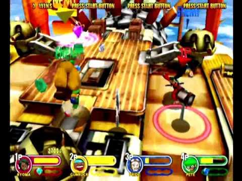 Power Stone 2 (Dreamcast) Arcade as Ryoma |