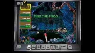 Лягушки бонусная игра в игровом автомате Fairy Land