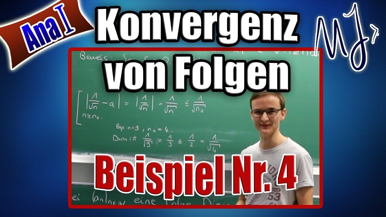 Download Konvergenz von Folgen mit Epsilon Definition beweisen - ausführliches Beispiel - Abschätzung erklärt