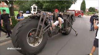WELTREKORD: Das schwerste Fahrrad der Welt in Eigenbau
