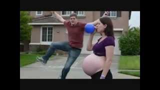 Pregnancy Music Video ( pregnant balloon tummy )