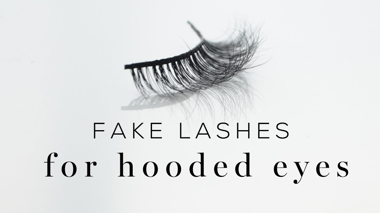 65a932b7486 Fake lashes for hooded eyes - helpful tips on choosing! - YouTube