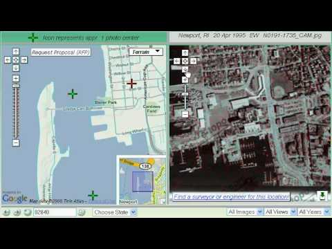 1. Using A Zip Code To Locate Your Site And Preview Image.  (No Audio)