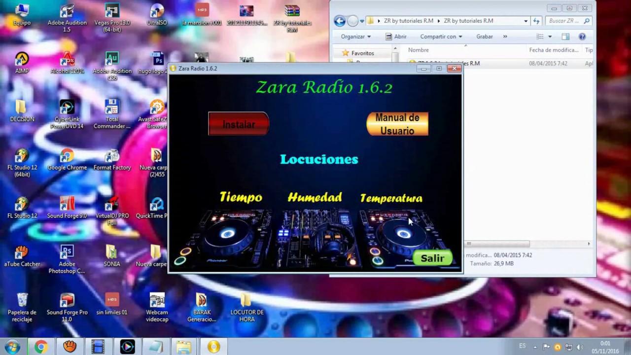 Como Descargar e Instalar ZaraRadio Full 1.6.2 - YouTube
