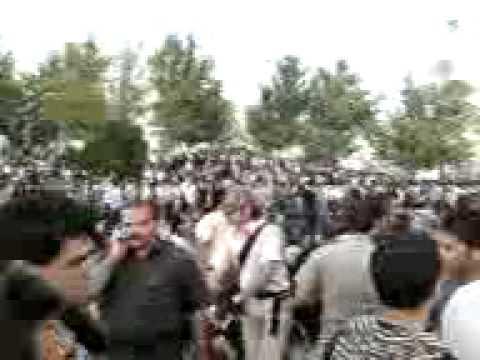 Azadi Square march