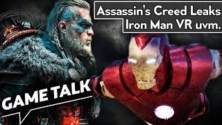 Sind Spiele zu lang? AC Valhalla-Leaks & Iron Man VR | Game Talk #71
