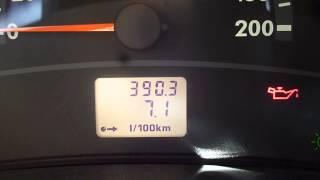 Реальный расход топлива Лада Калина 1,4л , 16V