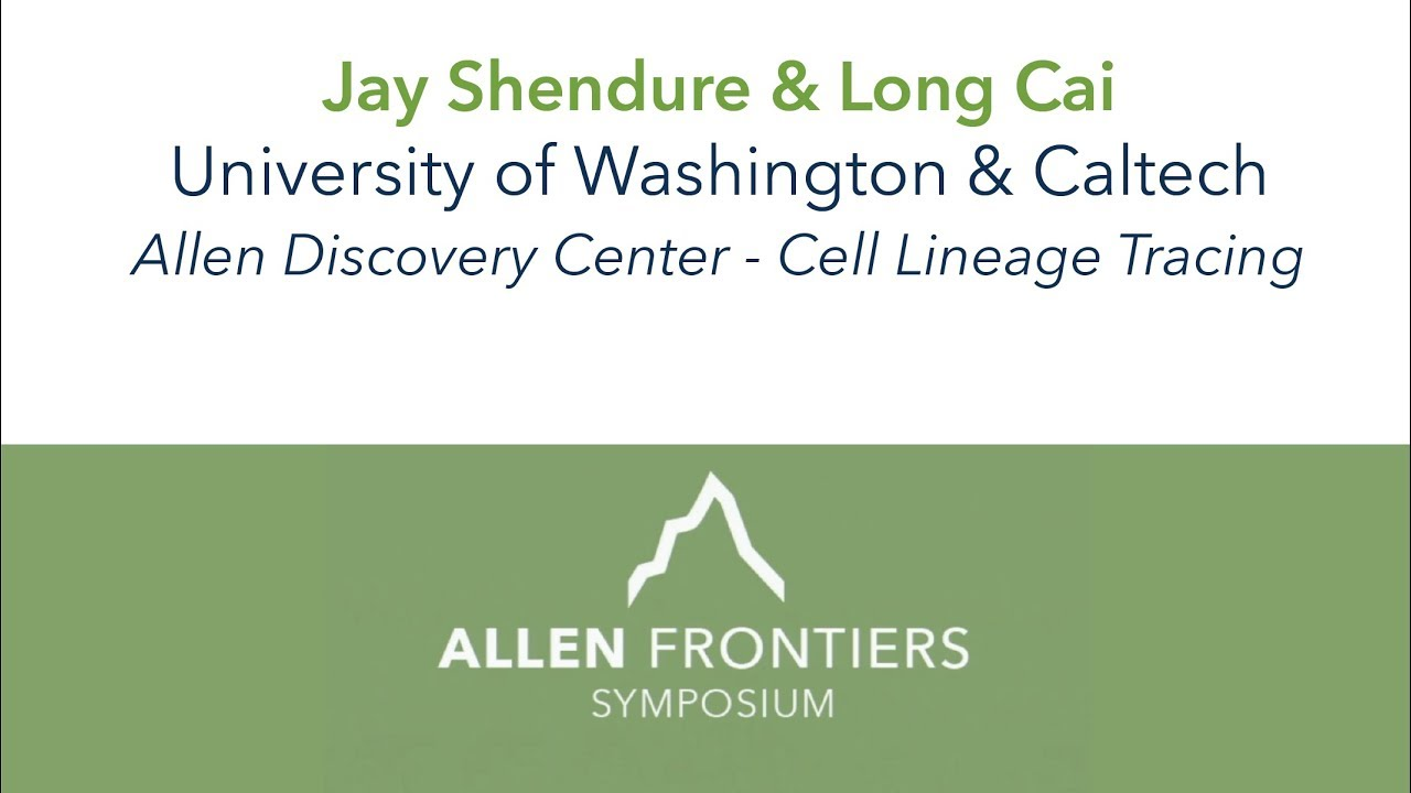 Jay Shendure and Long Cai | 2018 Allen Frontiers Symposium