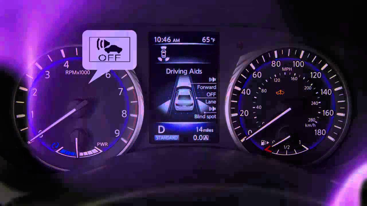 2015 infiniti q50 hev approaching vehicle sound for pedestrians rh youtube com