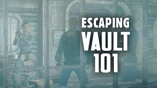 The Story of Fallout 3 Part 3: Escaping Vault 101 - Fallout 3 Lore