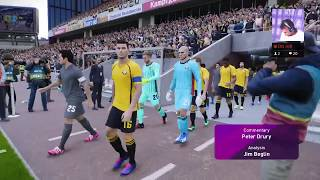 Pes202 vs Fifa20 Norwich City master league Coach mode ep2 gaming football