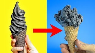 Trying 20 CRAZY YET DELICIOUS FOOD HACKS By 5 Minute Crafts