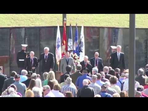 Vietnam Memorial Plaza Dedication