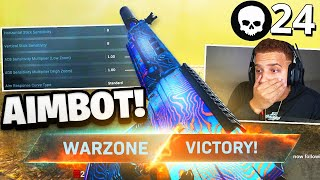 BEST WARZONE SETTINGS & SENSITIVITY! (Modern Warfare Warzone)