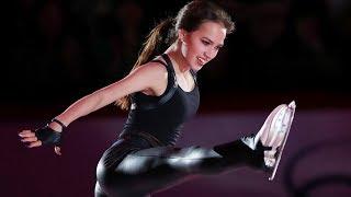 Загитова отправит автограф девушке которая катается на самодельных коньках