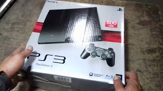 Unboxing Ps3 Slim CFW 500GB ANTI YLOD