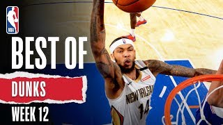 NBA's Best Dunks | Week 12 | 2019-20 NBA Season