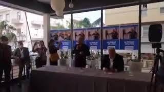 Emiliano a Brindisi presenta i suoi candidati al consiglio regionale