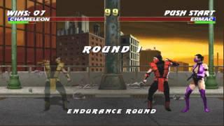 Mortal Kombat Trilogy PC Gameplay Chameleon