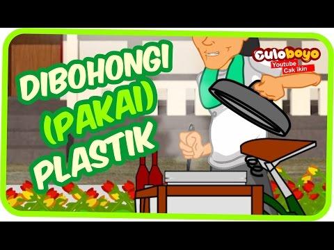 Culoboyo Dibohongi Pakai Plastik Diss Sekolah | Kartun Lucu