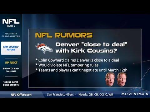 The Latest Kirk Cousins Rumors On Denver Broncos, Vegas Odds On Destinations And Landing Spots