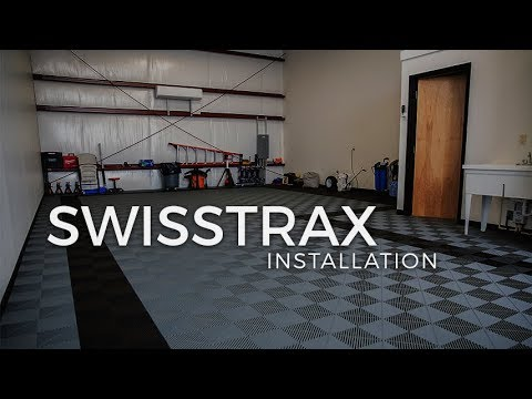 Installation of Swisstrax Ribtrax & Rubbertrax Flooring at OGHQ